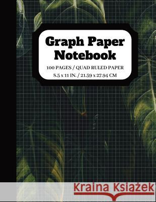 Graph Paper Notebook: Graph paper pages and White Paper - 5x5 Composition Notebook - Quad Ruled - 5 squares per inch - 100 pages - 8.5 x 11 Johan Publishers Nadine Pitt 9781095995440