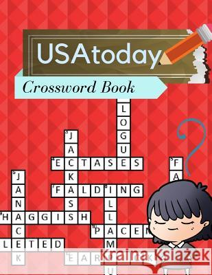 USAtoday Crossword Book: Puzzles Brain for adults and kids Medium Difficulty this Brain Games - Crossword Puzzles (USA Today Puzzles) Kohlaa J. Rejac 9781096243410
