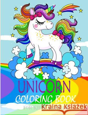 Unicorn Coloring Book: For Kids Ages 4-8: (US Edition) Jane Charles Old Bear 9781096897675