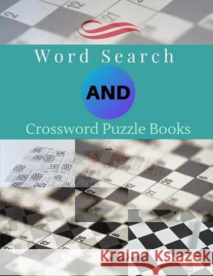 Word Search And Crossword Puzzle Books: Puzzles to Challenge Your Brain, Reproducible Worksheets for Classroom Use Kids Activities Books (Relaxing wee Braedley N. Melllon 9781096910220