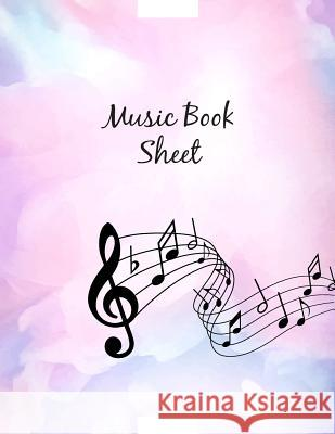 Music Book Sheet: Blank Sheet Music, 12 Staves Manuscript, Musician's Notebook, Songwriting Book, Practice Music Book Blue Elephant Music 9781097503490