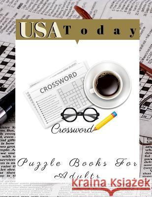 USA Today Crossword Puzzle Books For Adults: Crossword Word Hot Season Criss Cross, The New York Times Monday Through Friday Easy to Tough Crossword P Rrmoney R. Aeyers 9781097522637