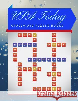 USA Today Crossword Puzzle Books: Wordsearch books, Find Word Puzzles for kids Word Search Puzzle Books, Improve Spelling, Vocabulary and Memory Child Rrmoney R. Aeyers 9781097524150