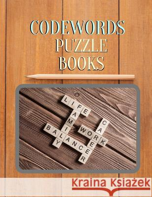 Codewords Puzzle Books: Luck Easy Crosswords Fun Puzzles to Get You Hooked! with Cleverly Hidden Puzzles (The New York Times Crossword Puzzles Tabuthi B. Muoae 9781097670079