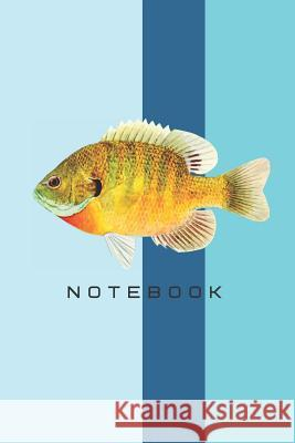Notebook: fish theme cover notebook Magda Isaac 9781099079153