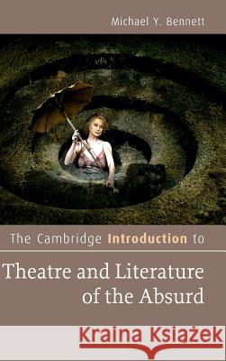 Cambridge Introductn Thtr Lit Absrd Michael Bennett 9781107053922