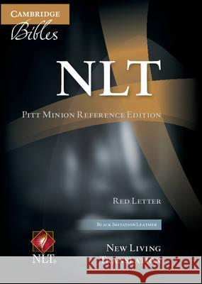 NLT Pitt Minion Reference Bible, Red Letter, Black Imitation Leather Nl442: Xr    9781107448100