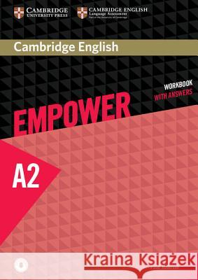 Cambridge English Empower Elementary Workbook with Answers with Downloadable Audio Anderson Peter 9781107466487