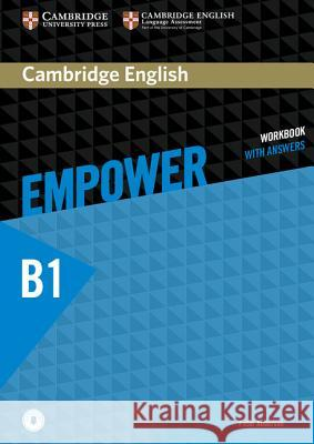 Cambridge English Empower Pre-Intermediate Workbook with Answers with Downloadable Audio Anderson Peter 9781107466807