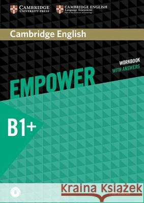 Cambridge English Empower Intermediate Workbook with Answers with Downloadable Audio Anderson Peter 9781107468696