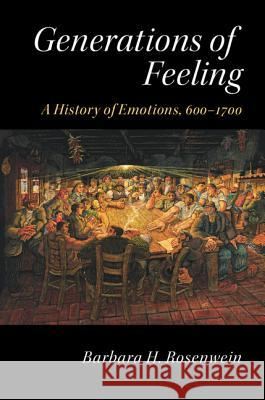 Generations of Feeling Barbara Rosenwein 9781107480841