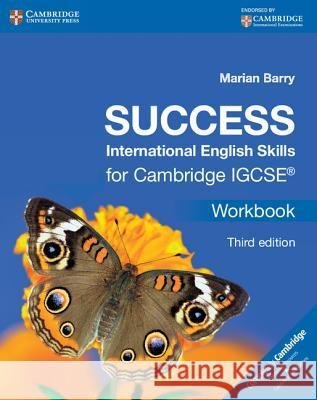 Success International English Skills for Cambridge Igcse(r) Workbook Marion Barry Marian Barry 9781107495968