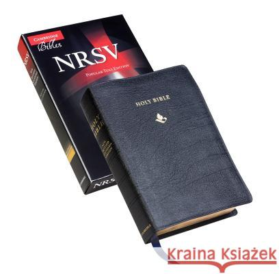 NRSV Popular Text Bible, Black French Morocco Leather, NR533:T    9781107635326