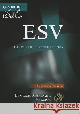 Clarion Reference Bible-ESV  9781107648302