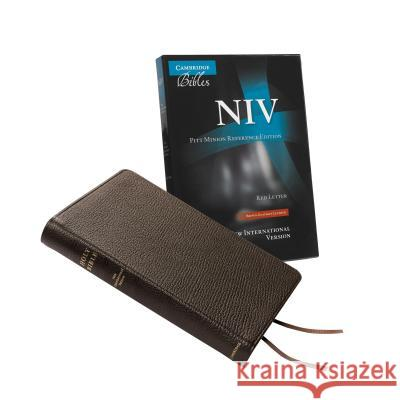 NIV Pitt Minion Reference Edition, Brown Goatskin Leather, Red Letter Text: Ni446: Xr    9781107661226