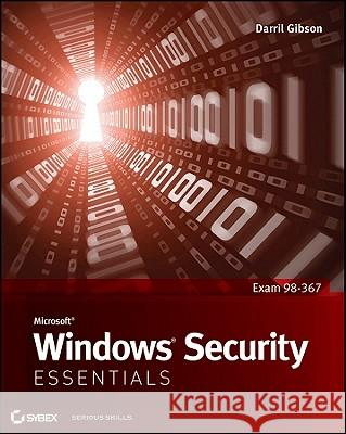 Microsoft Windows Security Essentials Darril Gibson 9781118016848