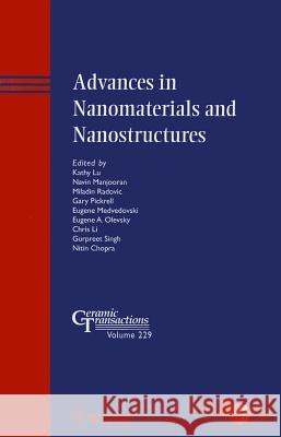 Advances in Nanomaterials and Nanostructures Acers 9781118060025
