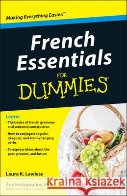 French Essentials for Dummies Laura K Lawless 9781118071755
