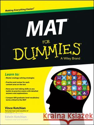 Mat for Dummies Vince Kotchian 9781118496756