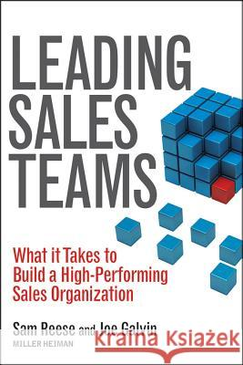 Leading Sales Teams Sam Reese 9781118516119