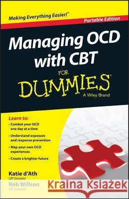 Managing OCD with CBT For Dummies Marshall, Joelle Jane 9781119074144