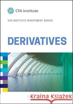 Derivatives CFA Institute,  9781119381815