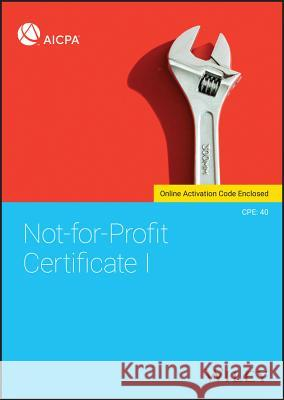 Not-For-Profit Certificate I Aicpa 9781119545163