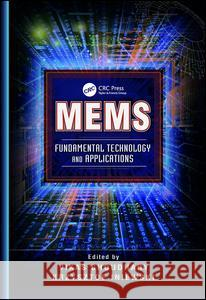 Mems: Fundamental Technology and Applications  9781138072305