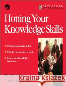 Honing Your Knowledge Skills Mariana Funes 9781138433281 Routledge