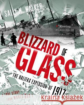 Blizzard of Glass: The Halifax Explosion of 1917 Sally M. Walker 9781250040084