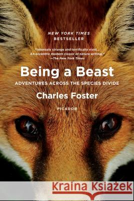 Being a Beast: Adventures Across the Species Divide Charles Foster 9781250132215 Picador USA
