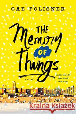 The Memory of Things Gae Polisner 9781250144423 Wednesday Books