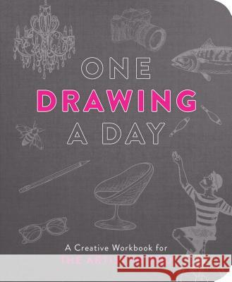 One Drawing a Day: A Creative Workbook for the Artist in You Ida Noe 9781250202307