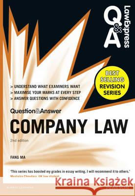 Law Express Question and Answer: Company Law (Q&A Revision Guide)  Ma, Fang 9781292067308