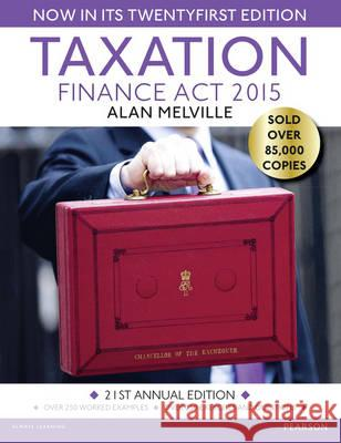 Taxation Finance Act 2015 Melville, Alan 9781292086293