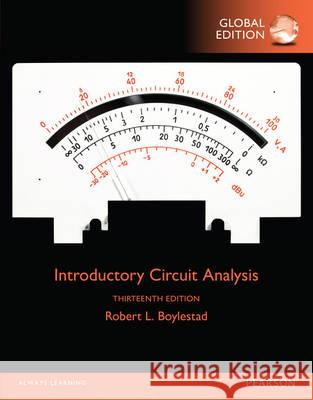 Introductory Circuit Analysis, Global Edition  Boylestad, Robert L. 9781292098951