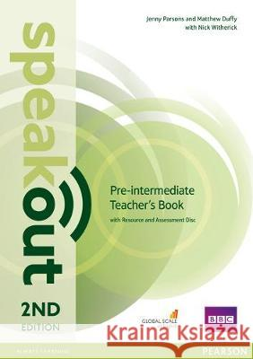 Speakout Pre-Intermediate 2nd Edition Teacher's Guide with Resource & Assessment Disc Pack Duffy, Matthew|||Parsons, Jenny|||Witherick, Nick 9781292120164
