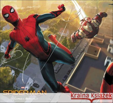 Spider-Man: Homecoming: The Art of the Movie Marvel Comics 9781302902759