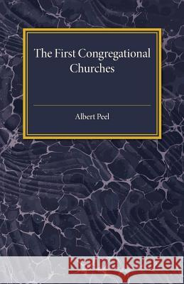 The First Congregational Churches: New Light on Separatist Congregations in London 1567-81 Albert Peel 9781316633427