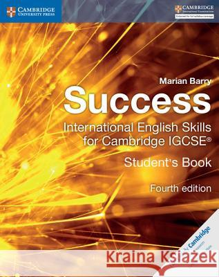 Success International English Skills for Cambridge IGCSE Student's Book Marian Barry 9781316637050