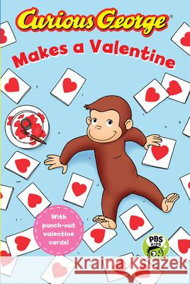 Curious George Makes a Valentine H. a. Rey 9781328695567