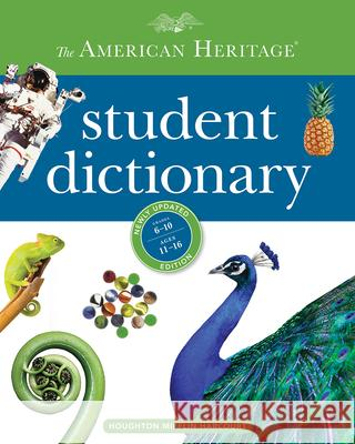 The American Heritage Student Dictionary Editors America 9781328787347