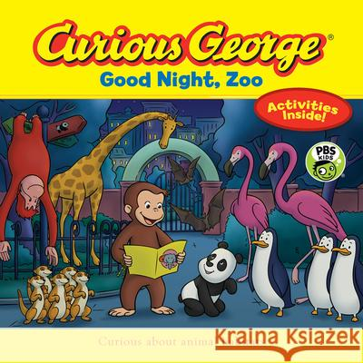 Curious George Good Night, Zoo (Cgtv 8 X 8) H. A. Rey 9781328972361