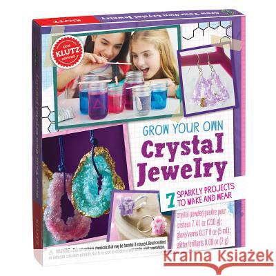 Grow Your Own Crystal Jewelry Klutz Press 9781338037494 Klutz
