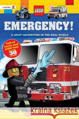 Emergency! (Lego Nonfiction): A Lego Adventure in the Real World Penelope Arlon 9781338149142