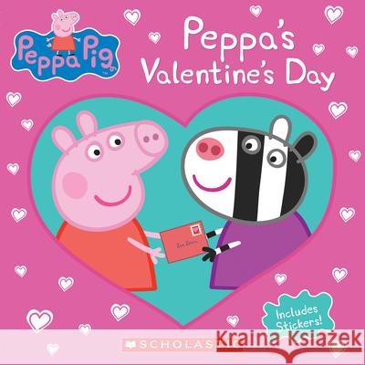 Peppa's Valentine's Day (Peppa Pig) Courtney Carbone Eone 9781338158977