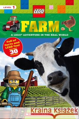 Farm: A Lego Adventure in the Real World Penelope Arlon 9781338214246