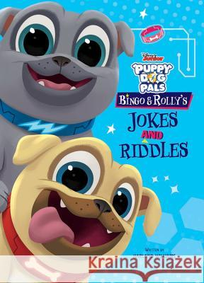 Puppy Dog Pals Rolly and Bingo's Jokes and Riddles Disney Book Group 9781368006170