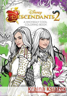Descendants 2 Coloring Book Disney Book Group 9781368014397