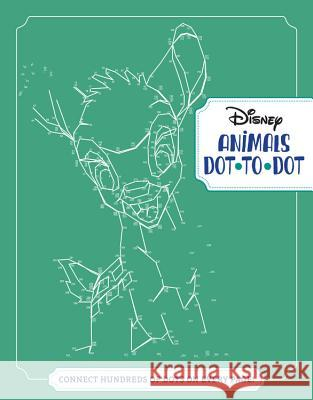 Disney Animals Dot-To-Dot: Connect Hundreds of Dots on Every Page! Disney Book Group                        Disney Storybook Art Team 9781368019248
